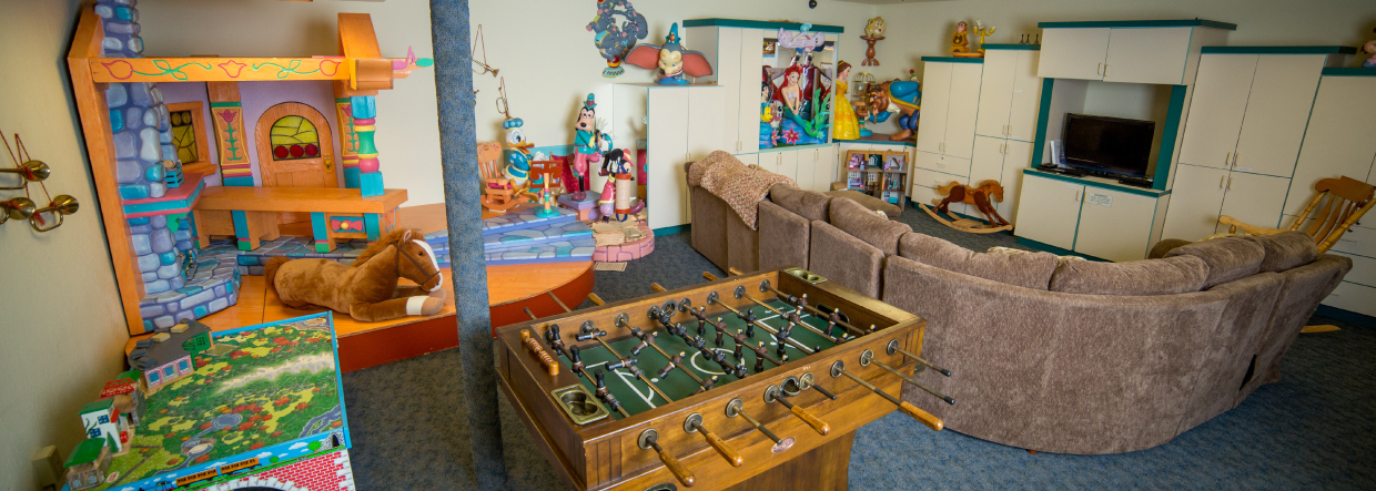 Reno Ronald McDonald House Playroom