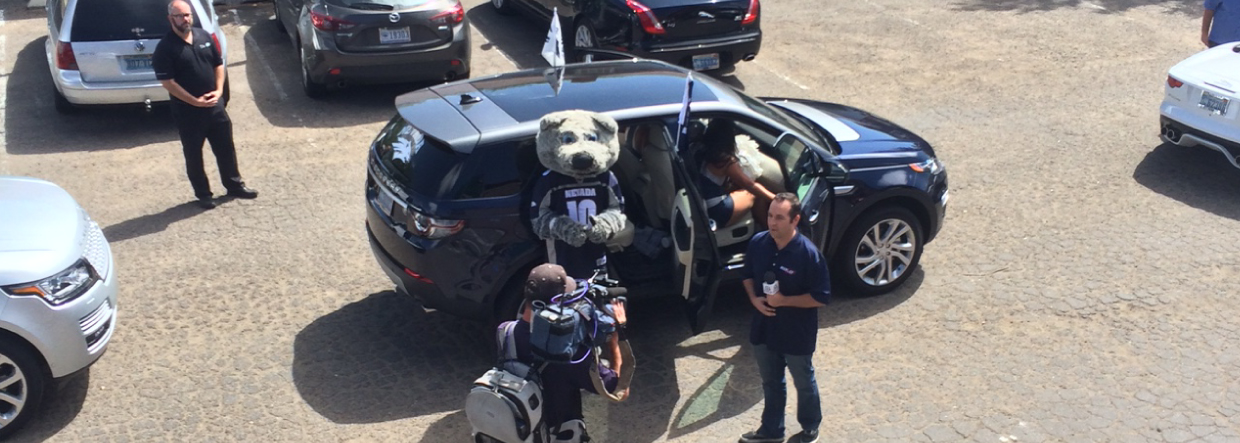 UNR Land Rover Tailgating Tour Reno RMHC