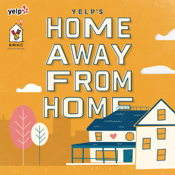 Yelp's Home Away from Home benefiting RMHCNN