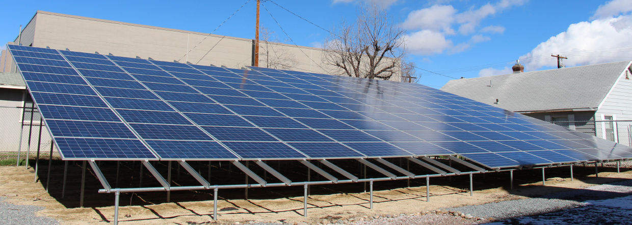 NV Energy Solar Panel Installation